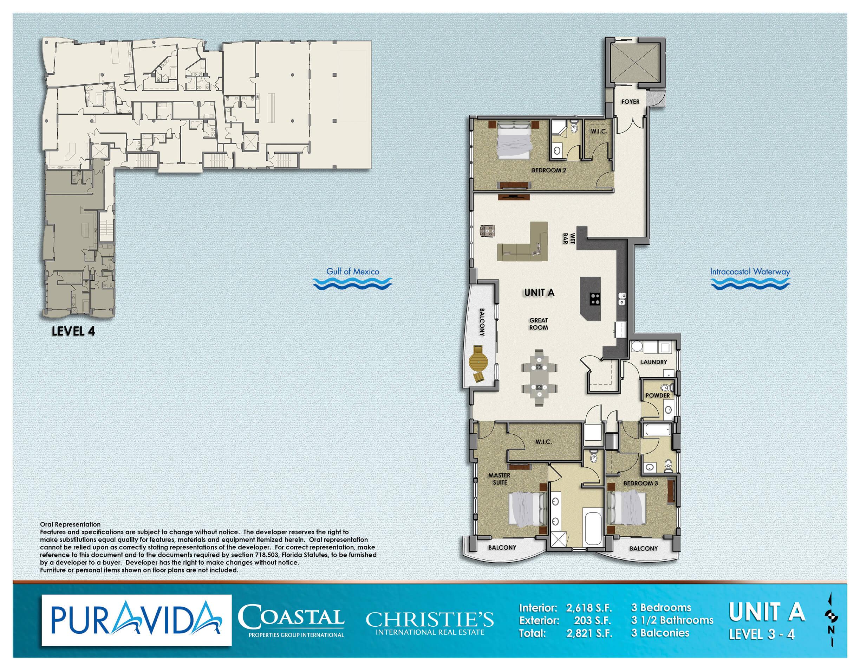 Pura_Vida_Floor_Plans_Level_3-4_Unit_A