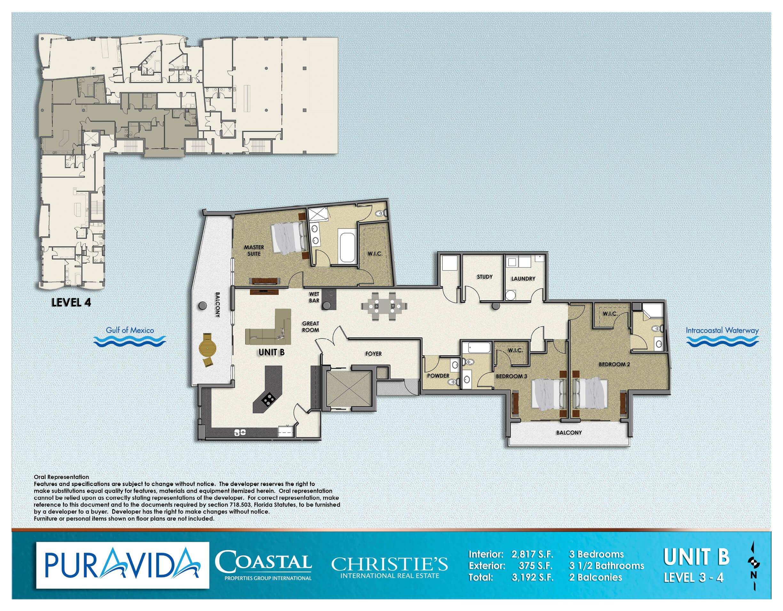 Pura_Vida_Floor_Plans_Level_3-4_Unit_B