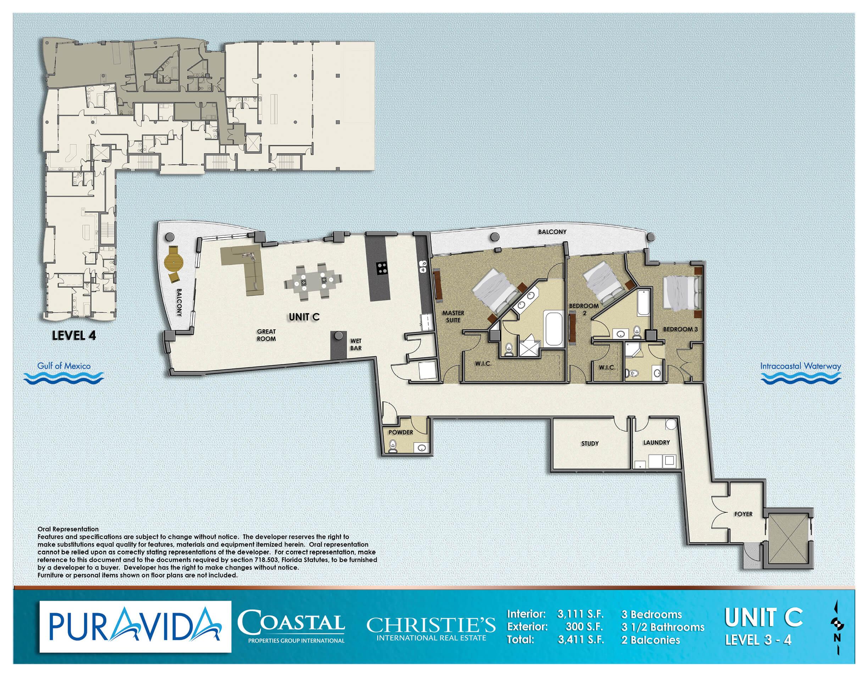 Pura_Vida_Floor_Plans_Level_3-4_Unit_C