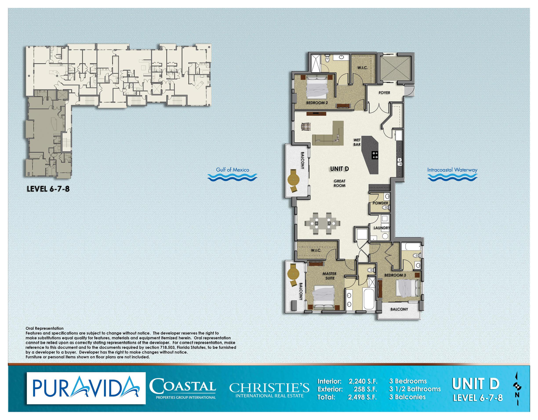 Pura_Vida_Floor_Plans_Level_6-7-8_Unit_D