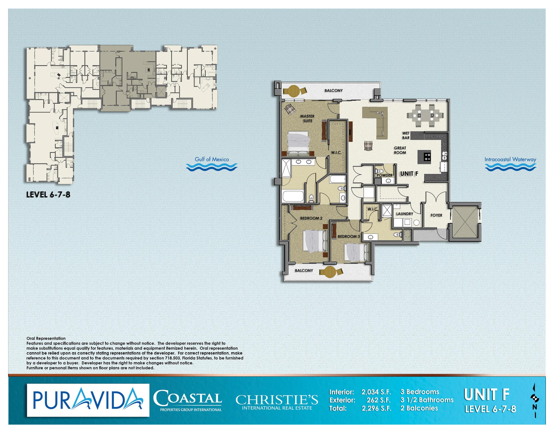 Pura_Vida_Floor_Plans_Level_6-7-8_Unit_F