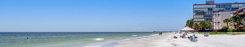 View of Beachfront Condo on Redington Beach