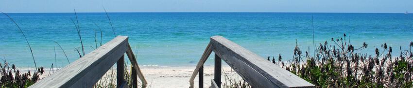 Casey Key Beach Scene
