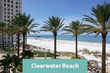 View from Beachfront Condo on Clearwater Beach