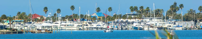Clearwater Beach Marina Area