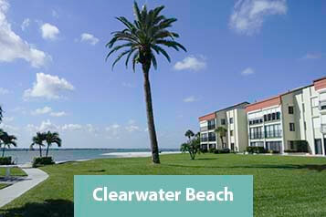 View of Clearwater Beach Waterfront Condo