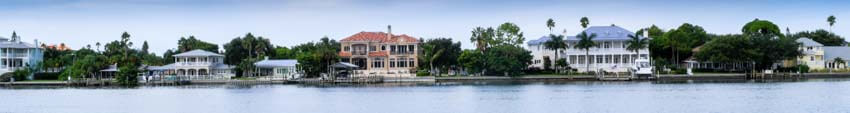 Clearwater Beach Waterfront Homes
