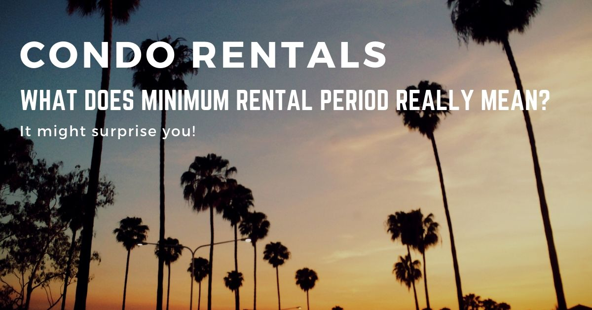 Minimum Rental Period Questions