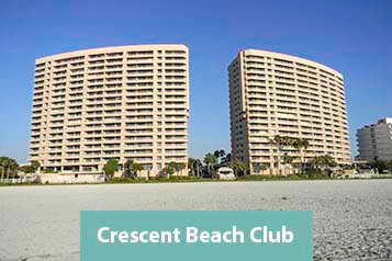 View From Crescent Beach Club Condo
