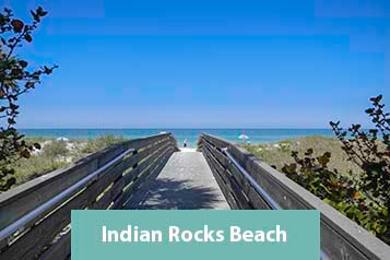 Walkway to Indian Rocks Beach