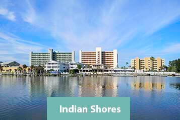 View of Indian Shores Waterfront Condos