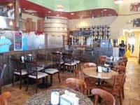 Interior at Britt's Coal Fire Pizza