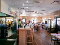 Interior of Doe Doe's Breakfast and Lunch Diner