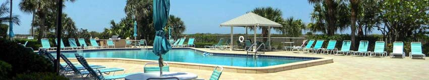 Beachfront Pool at Sand Key's Landmark Towers