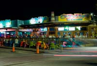 O'Maddy's Bar & Grill at Night in Gulfport Fl