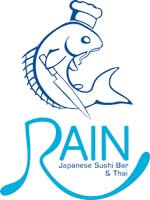 Rain Japanese Sushi Bar and Thai Restaurant Logo