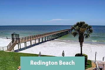 View From Beachfront Condo on Redington Beach