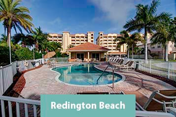View of Redington Beach Waterfront Condos