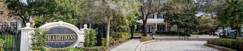 Seminole Fl Gated Community Entrance