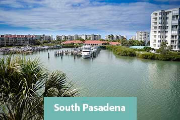 View of South Pasadena Waterfront Condo