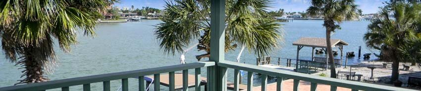 Water View from St Pete Beach Home