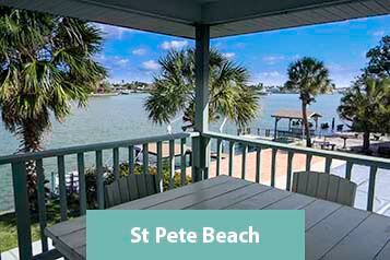 View From St Pete Beach Waterfront Condo