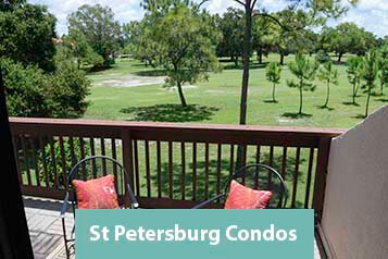 View from Pelican Crossing St Petersburg Condo