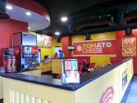 Interior of Tom & Chee in St Petersburg Fl