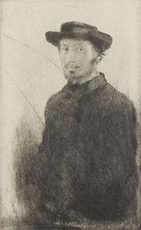 Autoportrait Edgar Degas