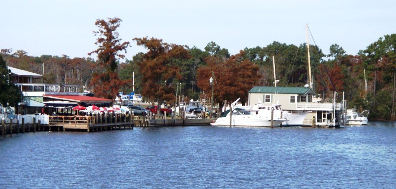 View of Madisonville La Riverfront