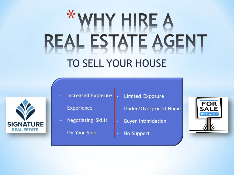 Why hire an agent