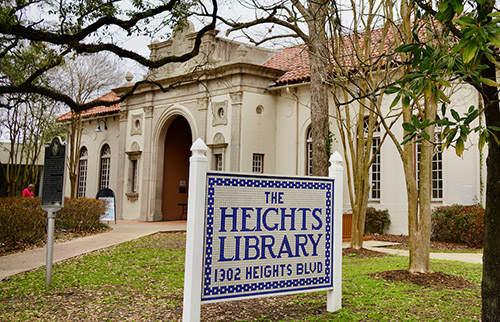 the heights library