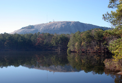 Beautiful View of Stone Mountain