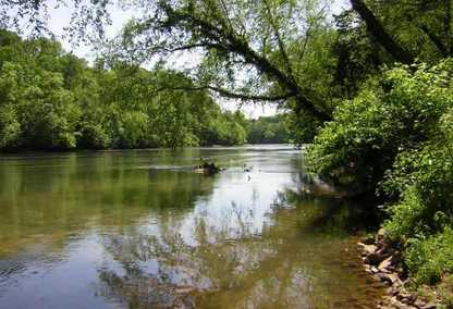 Chattahoochee River Near Vinings, GA