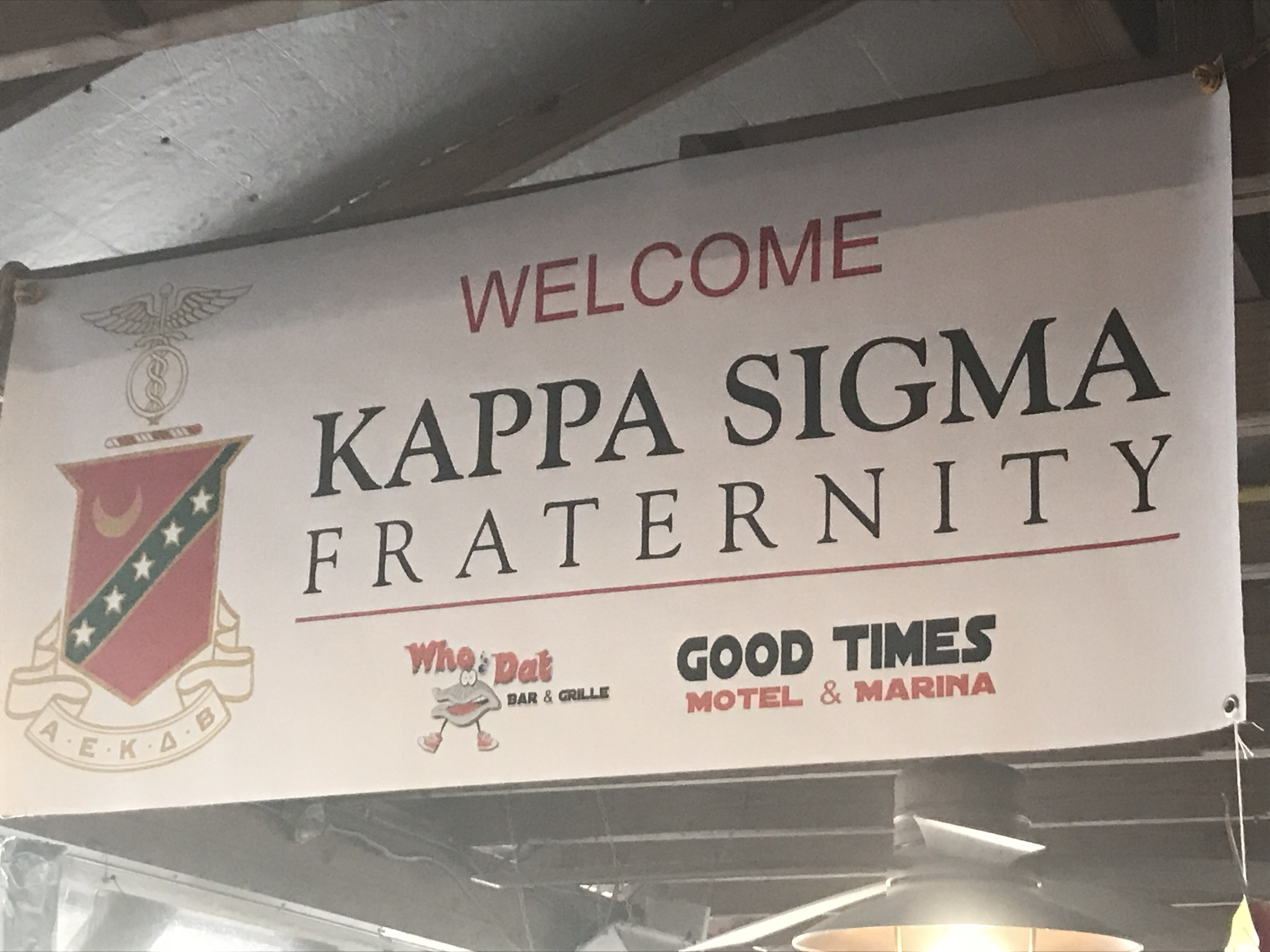 West Ga Kappa Sig Outing Steinhatchee FL