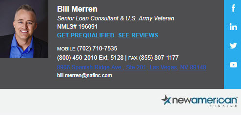 Bill Merren Senior Loan Consultant and US Army Veteran