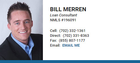 Bill Merren is Loan Advisor with New American Funding in Las Vegas Nevada