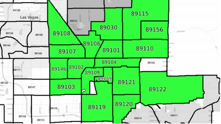 Hope Brings You Home Zip Codes Map