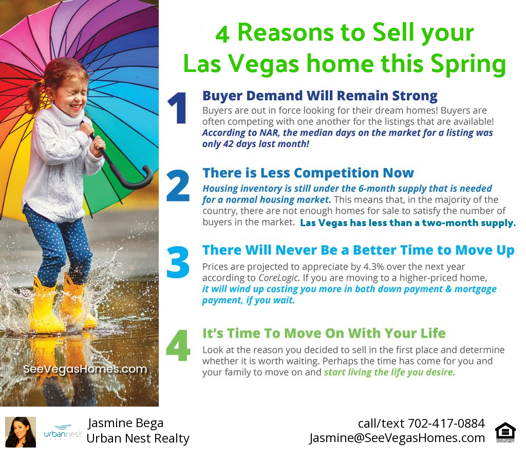 4 reasons to sell home spring 2018 las vegas seevegashomes