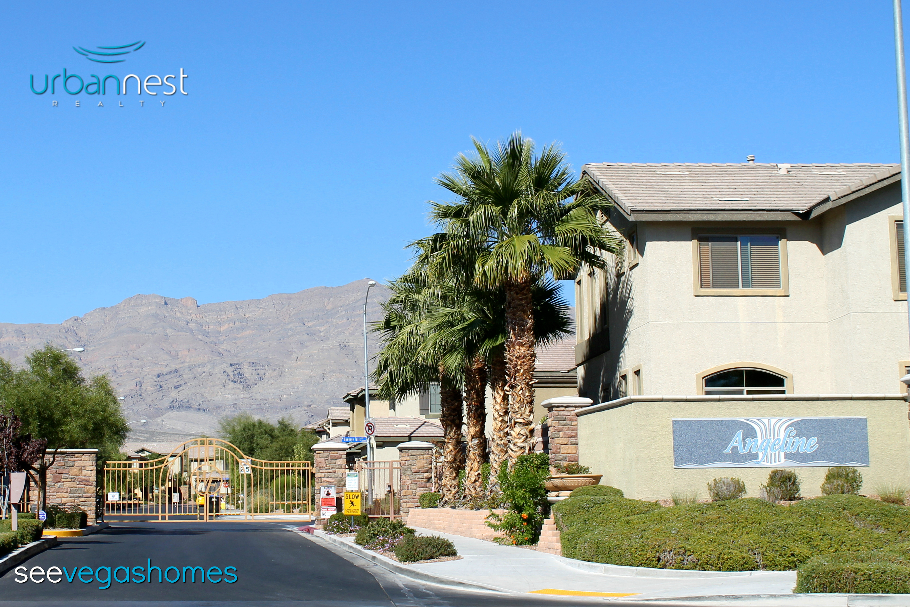 Angeline at Waterfall North Las Vegas NV 89085 Nelson Ranch SeeVegasHomes