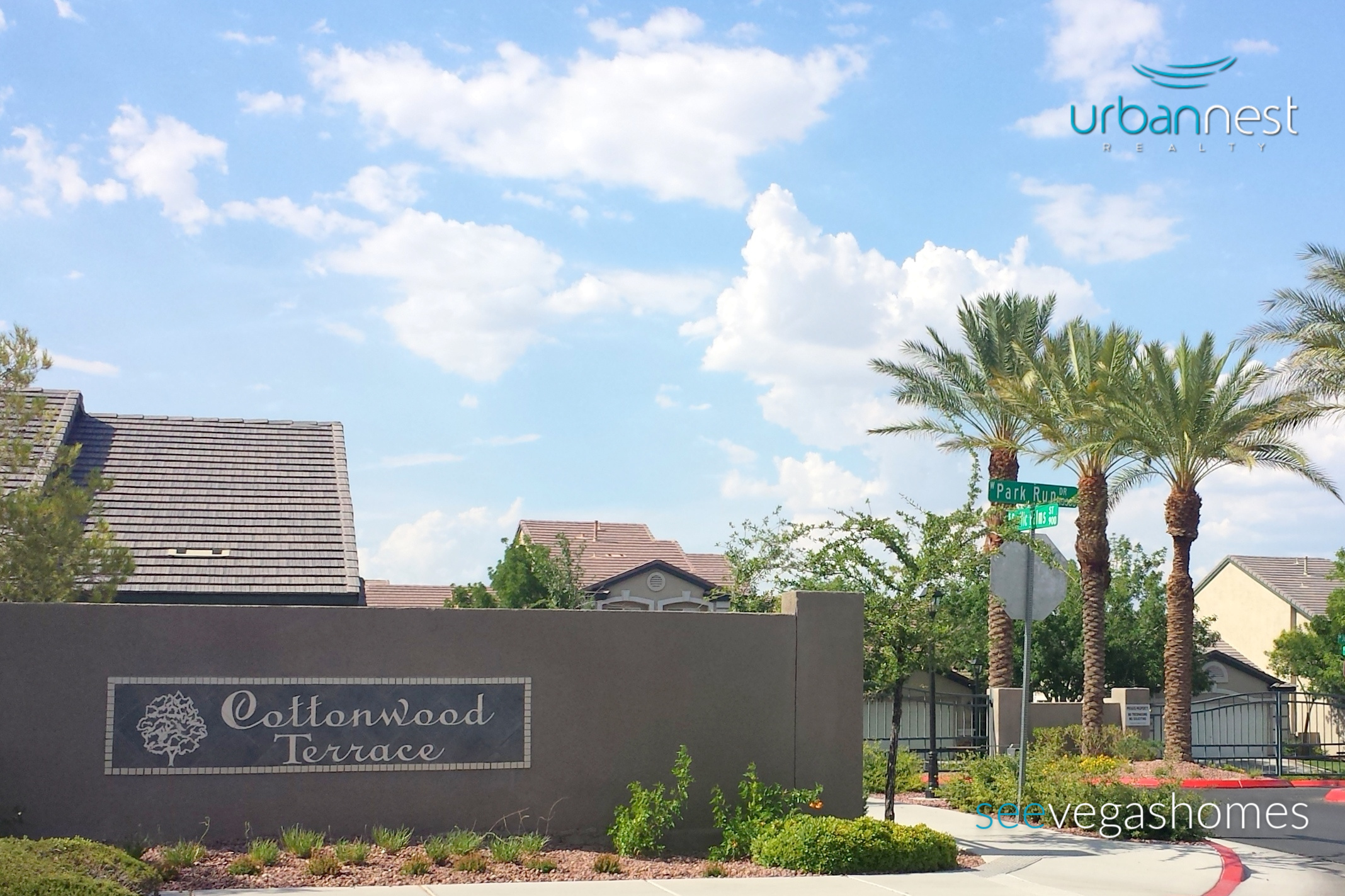 Cottonwood Terrace Townhomes Summerlin Las Vegas 89145 SeeVegasHomes