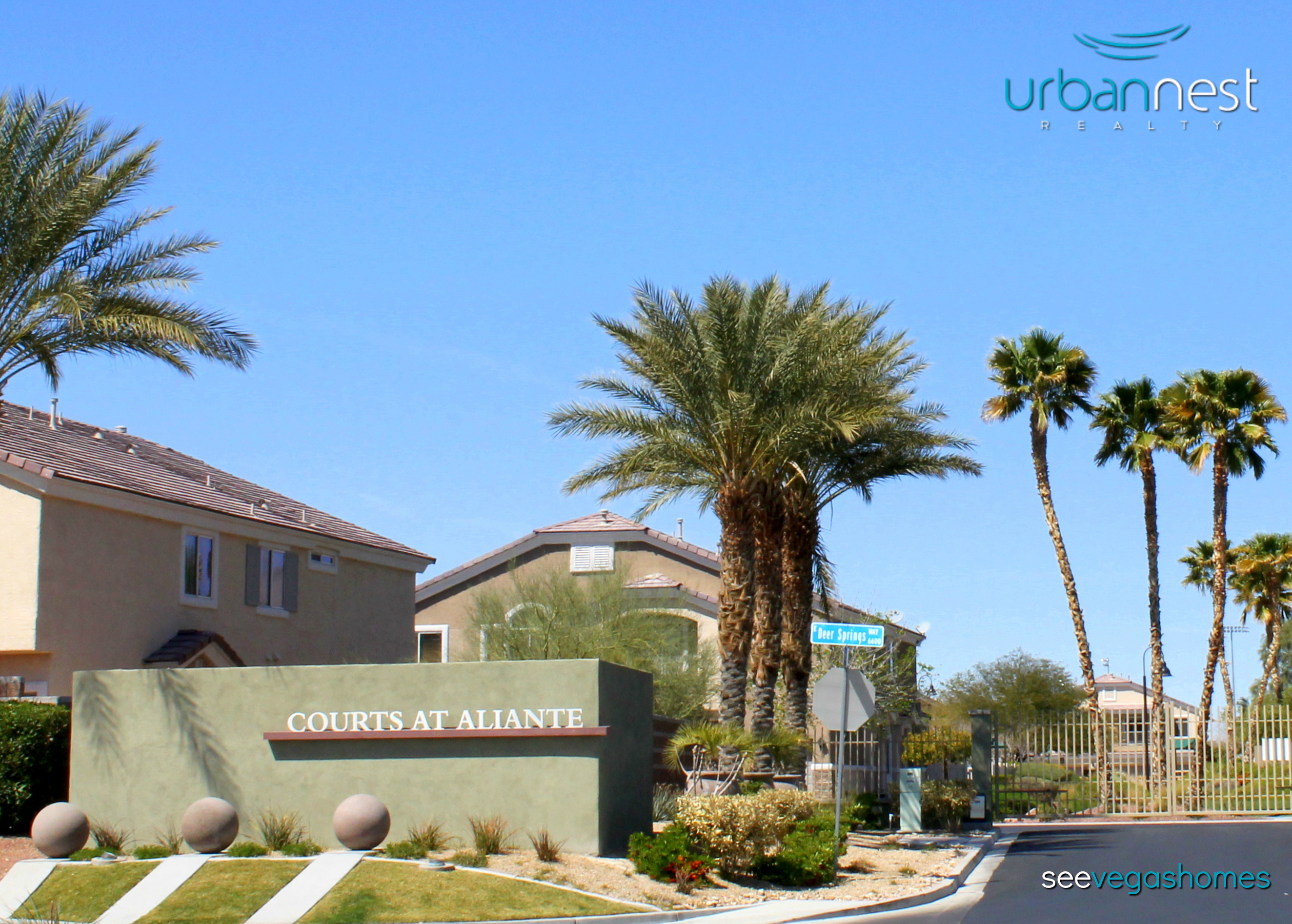Courts at Aliante Townhomes North Valley Court Las Vegas NV 89084 SeeVegasHomes