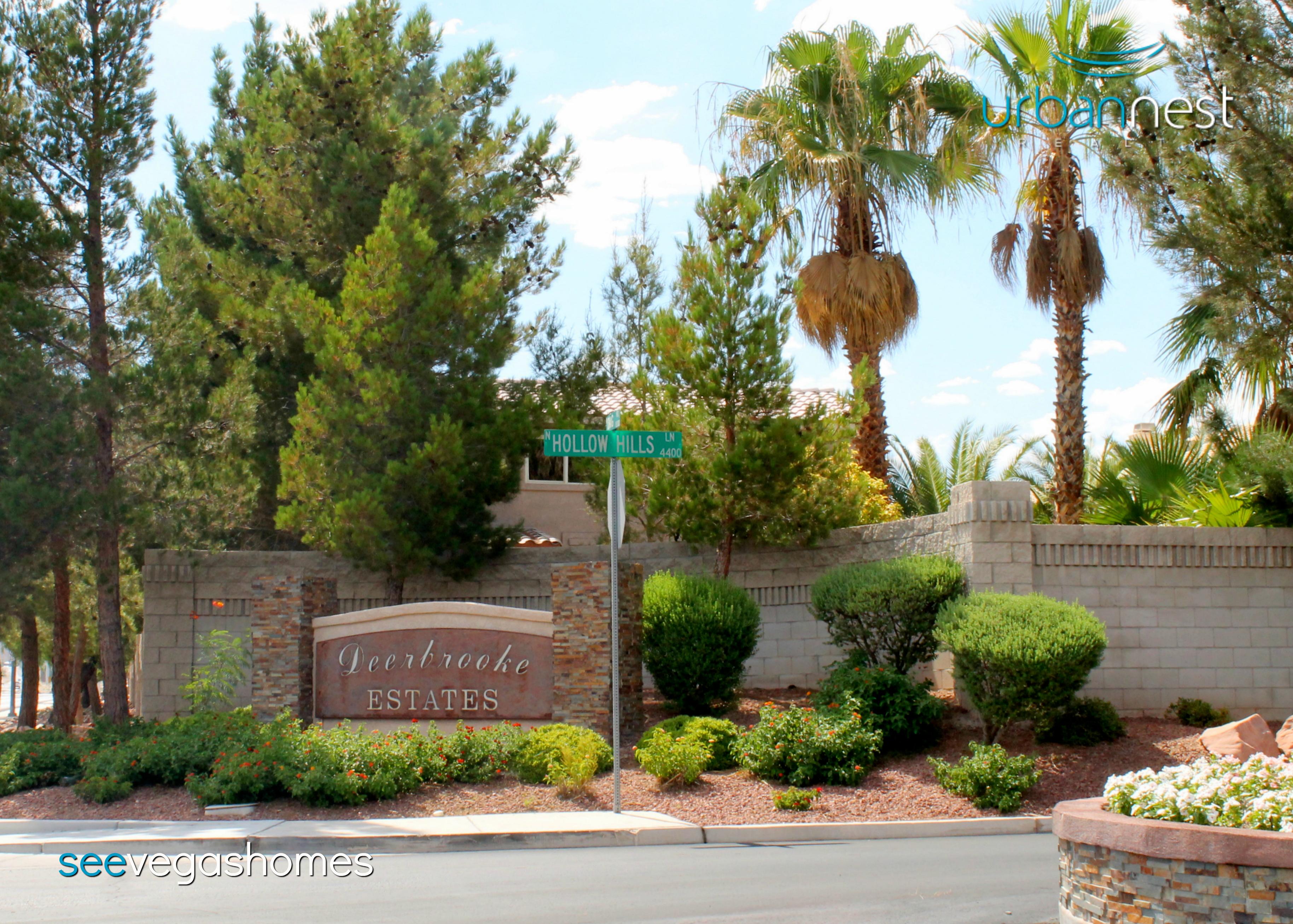 Deerbrooke Estates Monterey Est Subdivision Las Vegas NV 89129 SeeVegasHomes