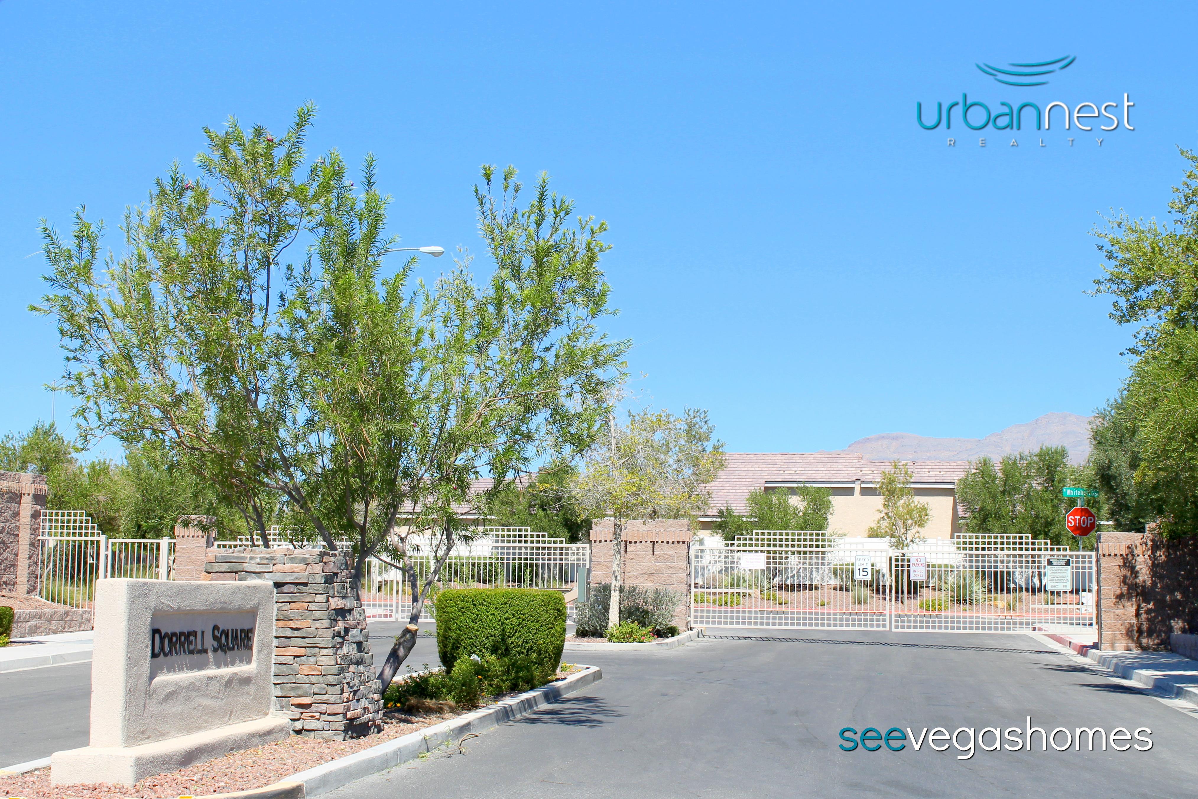 Dorrell Square Subdivision Townhomes Las Vegas NV 89131