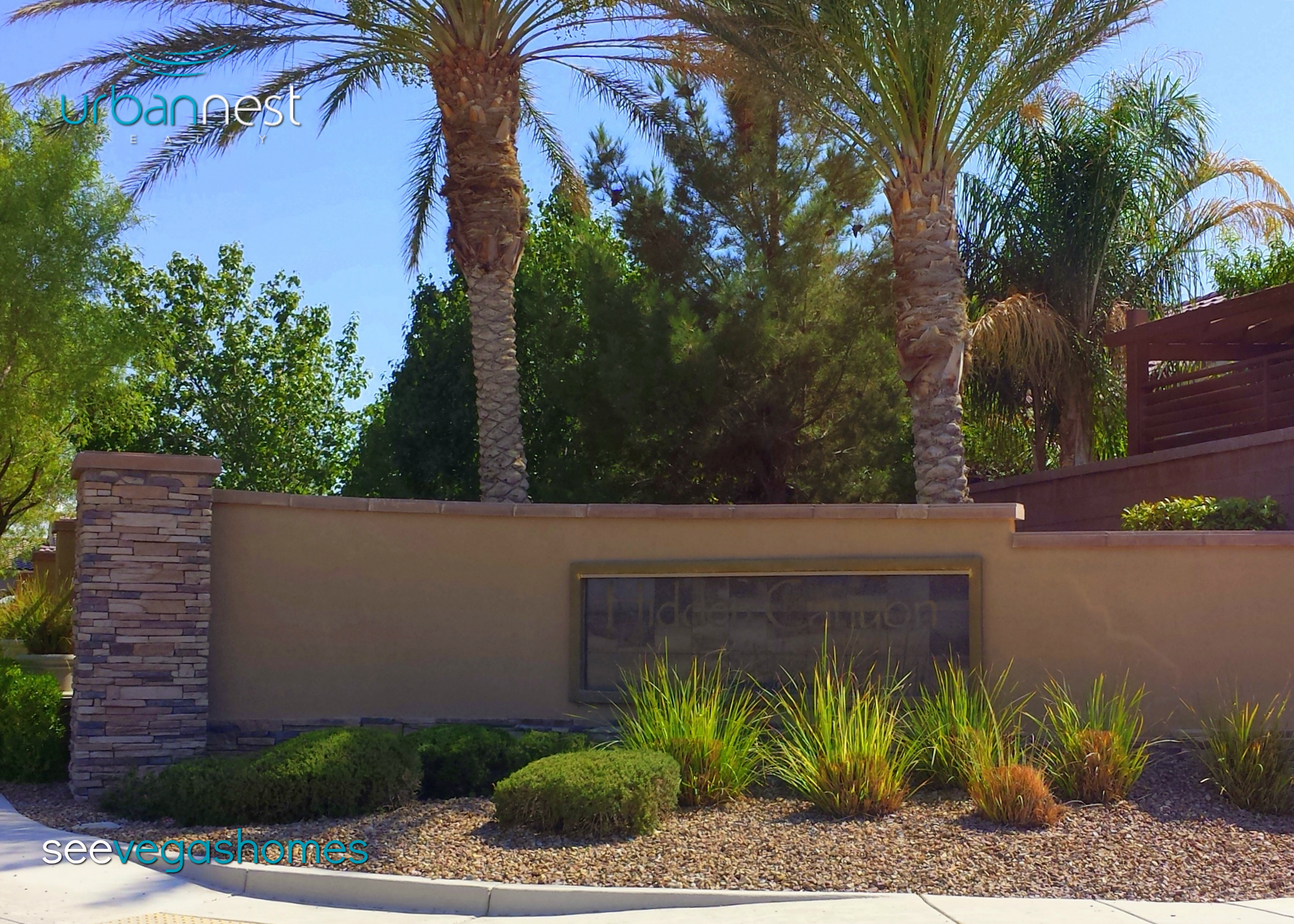 Hidden Canyon Estates Las Vegas NV 89131 Rome & Torrey Pines SeeVegasHomes