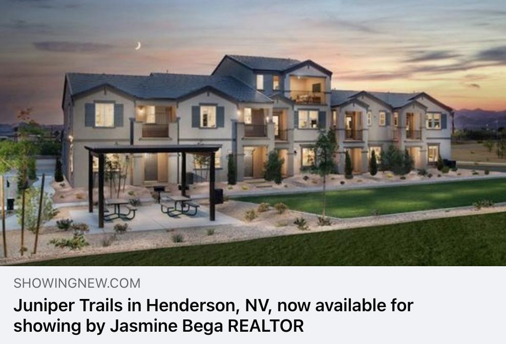 Juniper Trails in Henderson NV by Beazer Homes seevegashomes