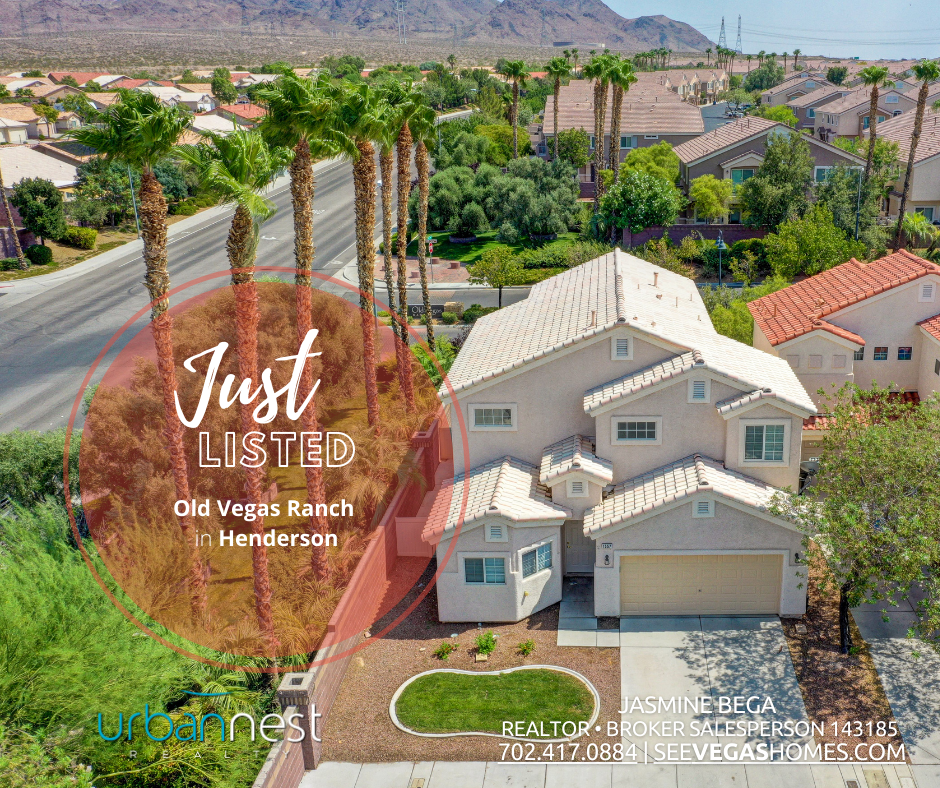 Just Listed 1557 Broken Bell in Twilight at Old Vegas Ranch Henderson