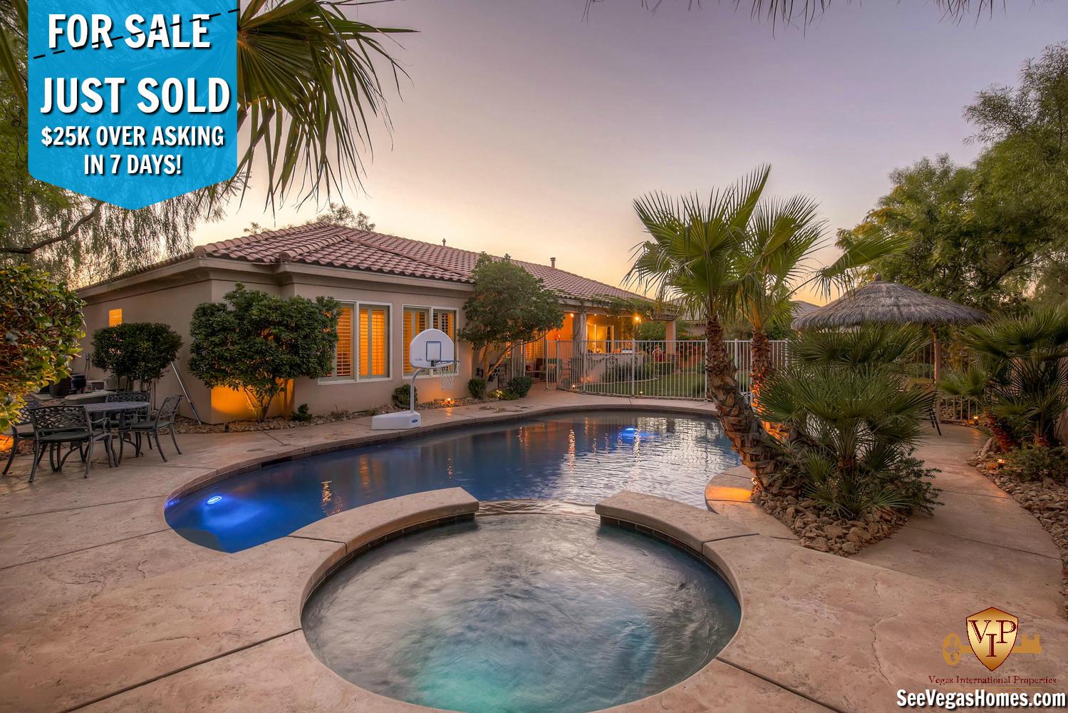 Sold in Wyeth Ranch Las Vegas NV 89131 Jasmine Bega SeeVegasHomes