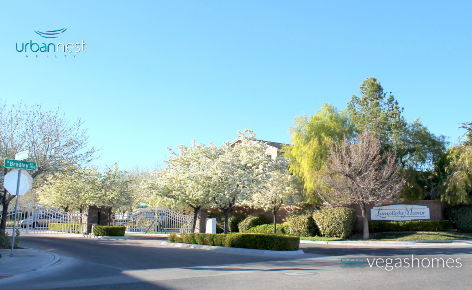 Lamplight Manor Las Vegas NV 89131 Rosewood Manor SeeVegasHomes