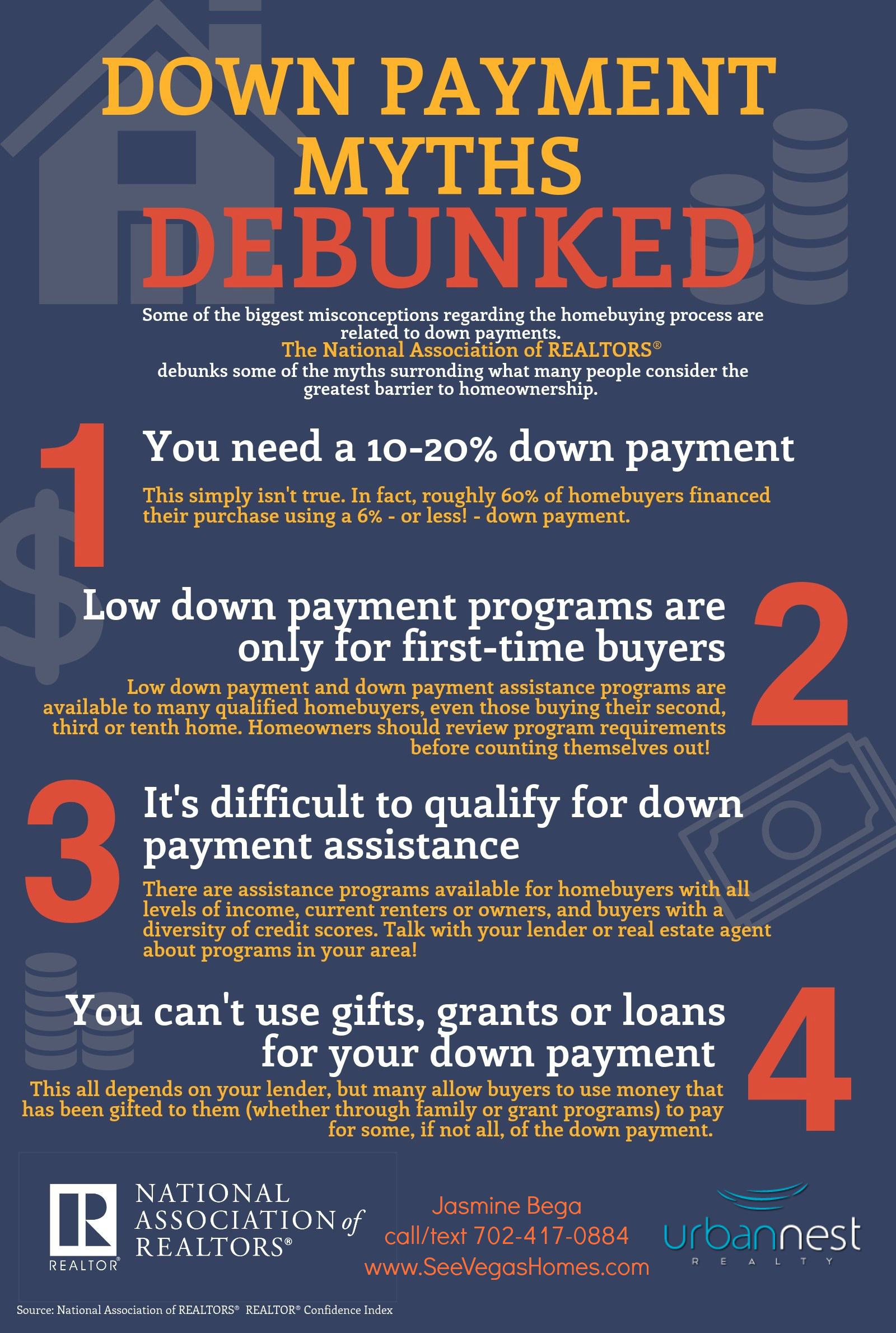 Downpayment Grants Home Tips Las Vegas SeeVegasHomes